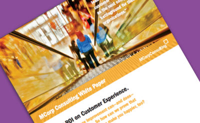 cover art - Proving ROI on Customer Experience