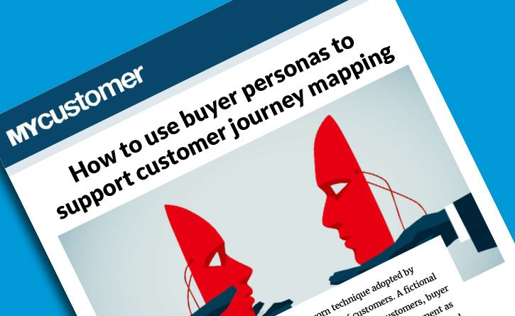 How To Use Buyer Personas To Support Customer Journey Mapping - Persona journey map