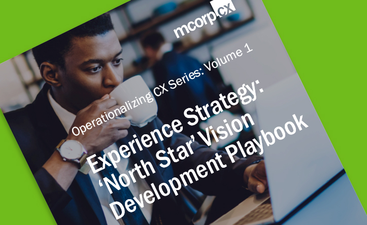 Customer Experience Strategy: 'North-Star' Vision Development Playbook.